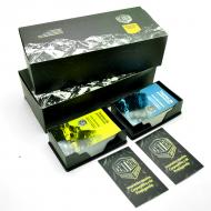2 Pack de Tarjetas Premium - Barniz 1 cara